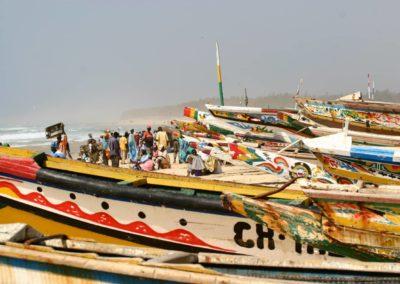 Senegal-bateaux_Armonie Voyages_Poitiers